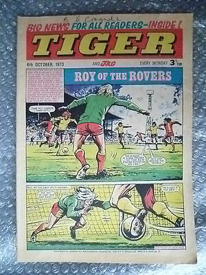Tiger and Jag Comic, 6 October 1973; Roy of the Rovers