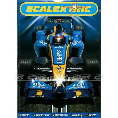 SCALEXTRIC CATALOGUE 47th EDITION 2006  with DVD