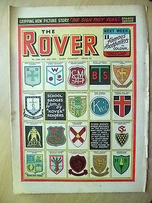 Comic- THE ROVER, No.1544, 29 January 1955