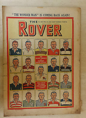 Comic- THE ROVER, NO 1285, 11th February 1950