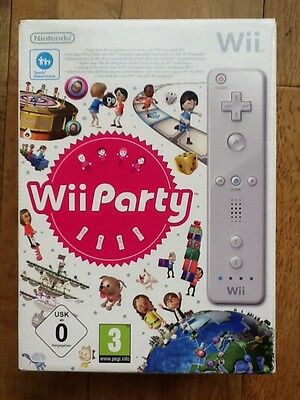 Nintendo Wii Party Game & Wii Remote. Boxed