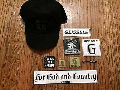 Geissele Automatics Baseball Hat, Stickers, and Patches NEW