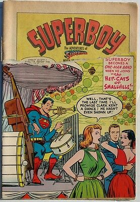 SUPERBOY #34 - 1954 - Clipped Cover