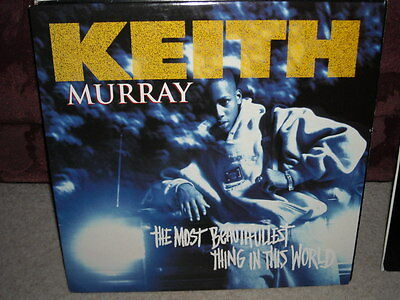KEITH MURRAY the most beautifullest thing in this world 1994 VINYL LP