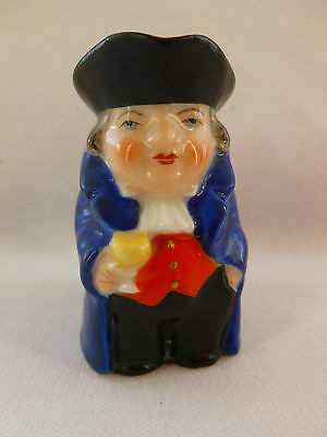 Miniature Royal Worcester Toby Jug dated 1929