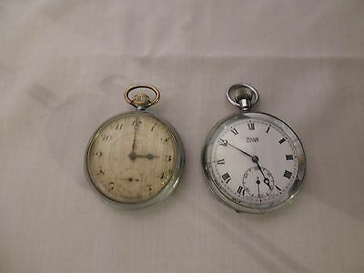 2 Vintage Swiss Made Pocket Watches/ Spares and repairs