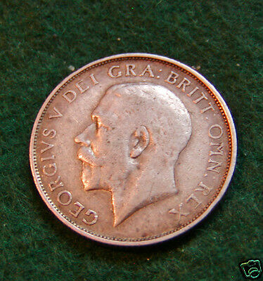 GEORGE V 1911 Shilling - Collectable Silver Coin.