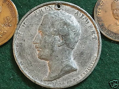 4 19th early 20th Century Commemorative Medallions.