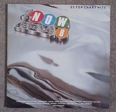 "Now That's What I Call Music 8 12"" Double LP Album Vinyl Record"