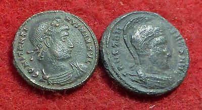 2 Ae3 Coins of Constantine