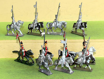 25mm minifigs s range napoleonic french cavalry lancers wargames