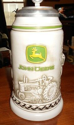 ertl 1:16 diecast john deere collectable stein
