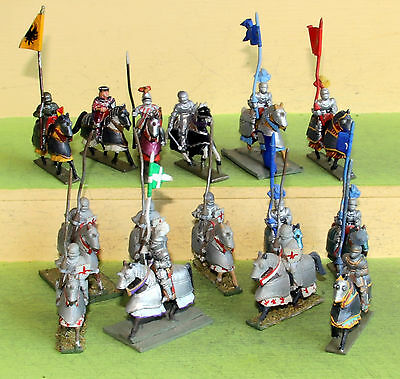 25mm minifigs late medieval heavy knights cavalry wargames
