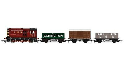 Hornby RailRoad LMS Diesel Freight Train Pack R3488 - Free Shipping