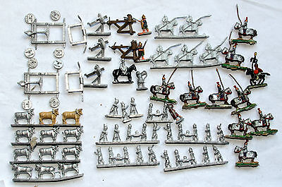 wargames old minifigs figures 15mm ancients roman artillery cavalry white metal