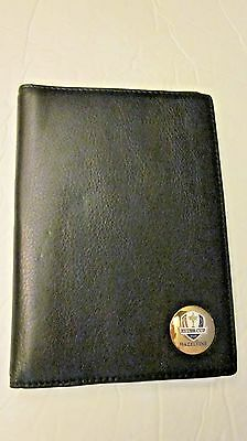 """ryder Cup Hazeltine"" Quality Leather Passport Holder With Spring Clip-New"