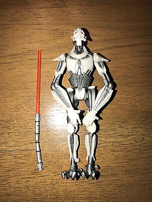 "Star Wars General Grievous 4"" Action Figure Hasbro 2004 LFL"