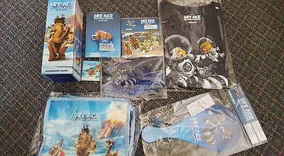 Ice Age Collision Course film Merchandise 8 items FREE P+P BRAND NEW