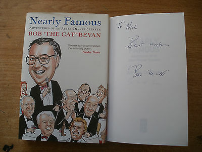 Signed Book-Nearly Famous-Bob'the Cat'bevan