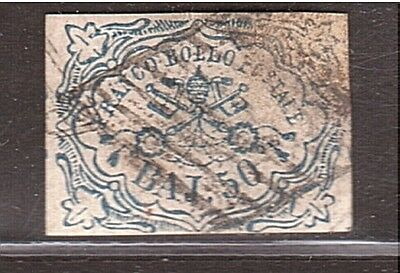 ITALY Papal States 50 bajo, no expertized (genuine ?) (#743)