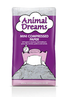 Animal Dreams Compressed Paper T Bag Bedding For Small Animals/puppy/ Horses
