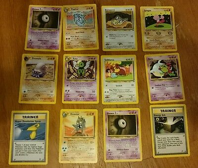 Pokemon Cards Mixed Trainer and Pokemon Bundle M