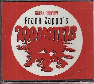 frank zappa's 200 motels 2x cd limited edition new promo
