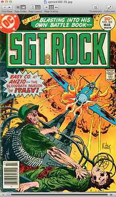 Our Army at War + Sgt. Rock - DC comics on 2 DVDs - Silver Age/Bronze Age