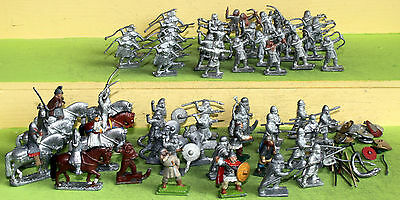 25mm minifigs dark ages and ns range infantry cavalry wargames figures