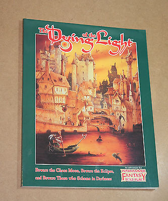 WFRP The Dying of the Light OOP Warhammer Fantasy Roleplay Hogshead oldhammer