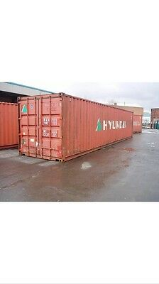 40ft used shipping containers  - (LON)
