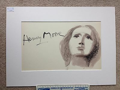 Henry Moore Sculpture Ideas Lithograph set of three