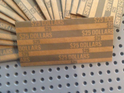 150 Coin Wrappers For Presidental Dollars, Sacagawea Dollar & Susan B. Anthony