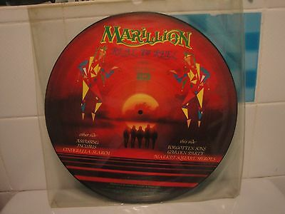 "Marillion Picture disc 12"" Reel to Real *L@@K SUPERB*"