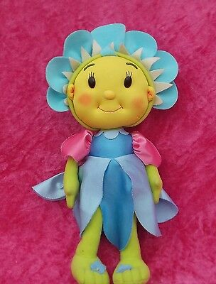 """Fifi and the Flowertots PRINCESS FIFI 12"""" Soft Plush Toy Doll with Poseable Arms"""