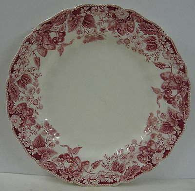 """Johnson Brothers STRAWBERRY FAIR Dinner Plate (10"""") Multiple Available"""