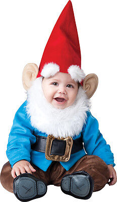 Costume Carnevale Bambino Gnome 0-24M Baby Carnival Costume Incharacter