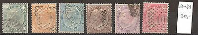 Italy Classic Mi 16-21 - Nice Used Collection