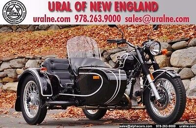 2016 Ural Retro Classic Black Gloss  Classic Style Reverse Gear Shifter Factory Pinstripes Financing & Trades