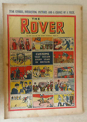 Comic- THE ROVER, NO 1310, 5th August 1950
