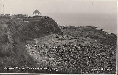 Browns Bay And Table Rocks,whitley Bay - Empire View Card