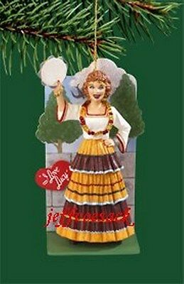 "I Love Lucy ""Gypsy""  Carlton ornament"