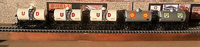 5 Triang/Hornby tankers