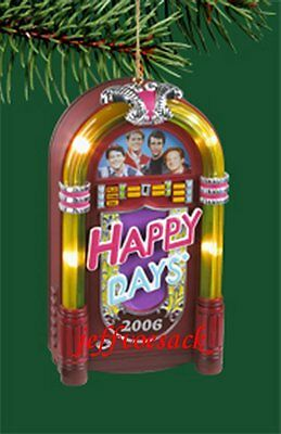 "Happy Days ""JukeBox"" Carlton Cards  Musical Ornament"