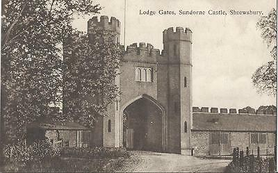Lodge Gates,sundorne Castle,shrewsbury 1908