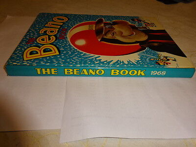 ######  Beano Book 1968 Fantastic Condition Full Spine ######