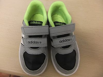Used Adidas velcro trainers to fit infant size 6.