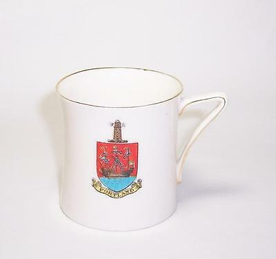 Antique CRESTED WARE China SMALL MUG/CUP - PORTLAND CREST - Best English Make