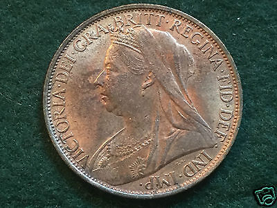 VICTORIA High Grade 1900 Penny. With some Lustre.