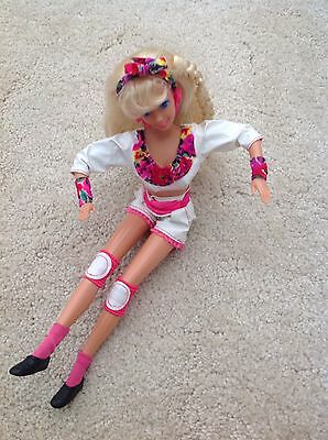 Collectable 1991 Roller Blade Barbie Doll  / Mattel